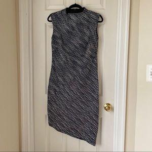 Banana Republic Tweed Asymmetrical Dress